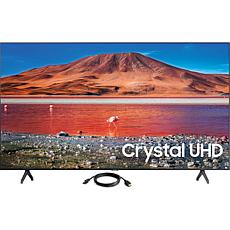"Samsung 70"" TU7000 Crystal UHD 4K Smart TV with HDMI Cable"