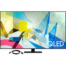 "Samsung 75"" Q80T QLED 4K UHD HDR Smart TV with HDMI Cable"