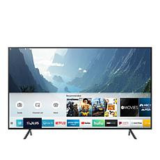 "Samsung NU7100 55"" 4K UHD Smart TV with HDMI Cable and 2-Year Warranty"