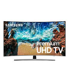 "Samsung NU8500 55"" Curved 4K Smart Ultra HD TV with 2-Year Warranty"