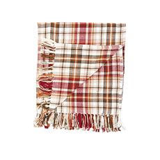 Samuel Plaid Throw