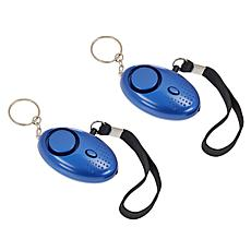Samurai Safety Alarm Keychain 2-pack