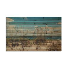 """Sand Dunes 48 """"x 30"""" Print on Wood"""