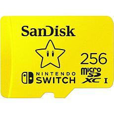 SanDisk 256GB microSDXC UHS-I-Memory Card for Nintendo Switch
