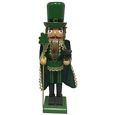 Santa's Workshop 14' Caped Irishman Nutcracker Figurine