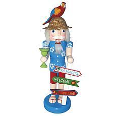 Santa's Workshop 14' Welcome To Paradise Nutcracker Figurine