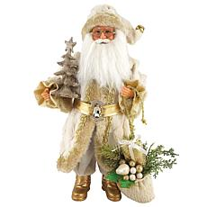 Santa's Workshop 15' Golden Splendor Claus Figurine