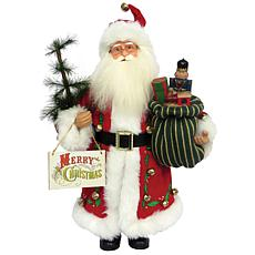 Santa's Workshop 15' Merry Christmas Claus Figurine