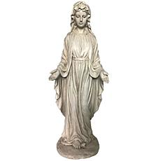 Santa's Workshop Cold Cast Virgin Mary Statue