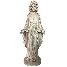 Santa's Workshop Cold Cast Virgin Mary Statue
