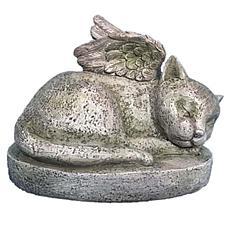 Santa's Workshop Remembrance Kitty Angel Statue