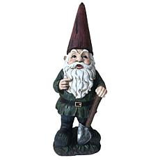 Santa's Workshop Resin Gnome with Shovel