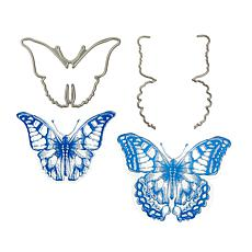 Sara Signature Butterflies Stamp & Die Set