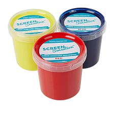 Screen Sensation Primary Colors Inks 3-pack