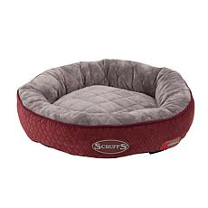 Scruffs Thermal Ring Bed - Burgundy