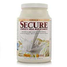 Secure Meal Replacement - 100 Servings - Vanilla - AS