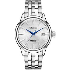 Seiko Men's Presage Cocktail Time Stainless Steel Automatic Watch
