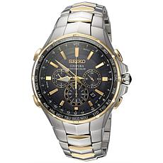 Seiko Men's SSG010 Coutura Two-Tone Stainless Steel Bracelet Watch