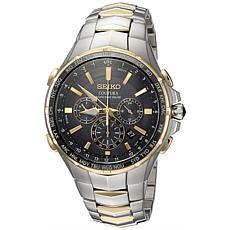 Seiko Men's SSG010 Coutura Two-Tone Stainless Steel Bracelet Watch