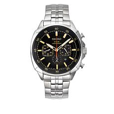Seiko Men's Stainless Steel Solar-Powered Watch