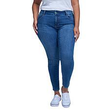 Seven7 Mid-Rise Tummyless Skinny Jean