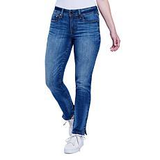 Seven7 Women's Slim Maker Straight Jean - Seine