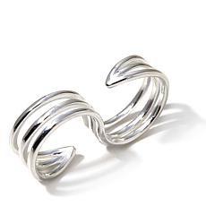 Sevilla Silver™ Contemporary 2-Finger Ring