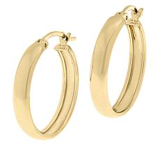 Sevilla Silver™ Gold-Plated Medium Hoop Earrings