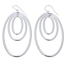 Sevilla Silver™ Layered Oval Drop Earrings