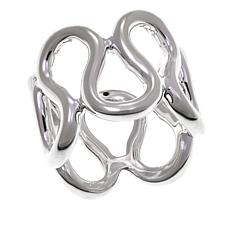 "Sevilla Silver™ Looped ""Eternity"" Band Ring"