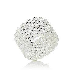 Sevilla Silver™ Mesh Design Band Ring
