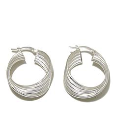 Sevilla Silver™ Multi-Row Hoop Earrings