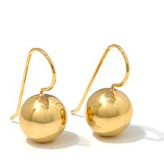 Sevilla Silver Polished Ball Drop Earrings