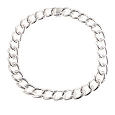 "Sevilla Silver™ Polished Oval Link 24"" Necklace"
