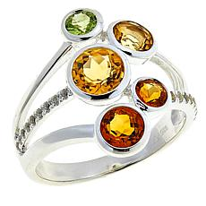 "Sevilla Silver™ ""Shades of Citrine"" Ring"