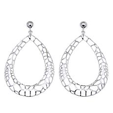 Sevilla Silver™ Webbed Teardrop Drop Earrings