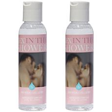 Sex in the Shower Two Pack Shower Gel Lubricant Water-Based