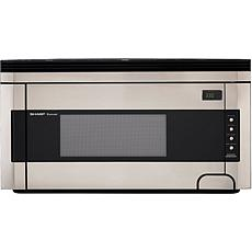 Sharp 1.5 Cu. Ft. 1000W Over-the-Range Microwave Oven