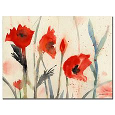 "Sheila Golden 'Poppies' Giclee Print - 14"" x 19"""