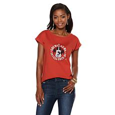 Sheryl Crow Roll Sleeve Graphic Tee