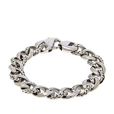 "Simone I. Smith ""Gravel-Link"" Men's Bracelet"