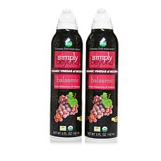 Simply Beyond Spray-On Organic Balsamic Vinegar of Modena 2-pack
