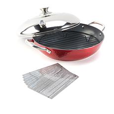 Simply Ming Elite Hammered Ceramic Nonstick Stovetop Oven
