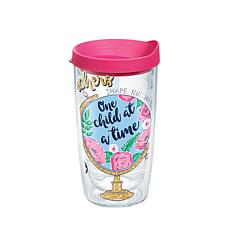 Simply Southern Teachers Globe 16 oz Tumbler with lid