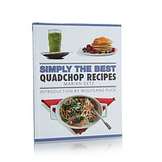 """""""Simply the Best QuadChop Recipes"""" Book by Marian Getz"""
