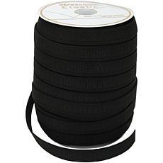Singer Stretchrite Non-Roll Flat Elastic - Black