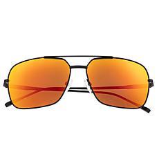 Sixty One Teewah Polarized Sunglasses -Black Frame & Red/Yellow Lenses