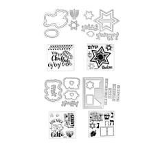 Sizzix Hanukkah Stamp and Die Bundle