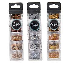 Sizzix® Sequins and Bead Embellishments (3) 5-packs