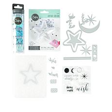 Sizzix® Star Shaker Dome Card Set with Framelits and Impresslits Dies